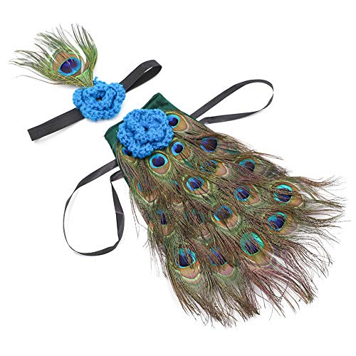ZTL Newborn Baby Photography Props Novelty Peacock Costume Outfits with Headband