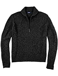 Men's Big & Tall Shaker Knit Zip-Front Cardigan