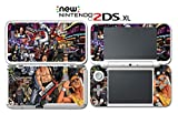80's Pop Robocop Rambo Classic Movie Video Game Vinyl Decal Skin Sticker Cover for Nintendo New 2DS XL System Console