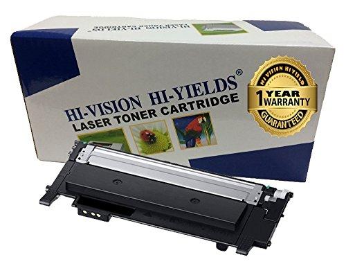 HI-VISION HI-YEILDS Compatible Toner Cartridge Replacement for Samsung CLT-K404S ( Black , 1 pk ()