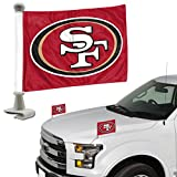 Promark NFL San Francisco 49Ers Flag Set 2Piece Ambassador Stylesan Francisco 49Ers Flag Set 2Piece Ambassador Style, Team Color, One Size