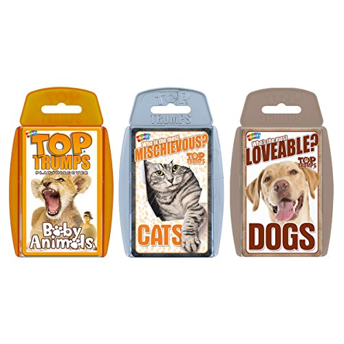 (Cute Animals Top Trumps Card Game Bundle)