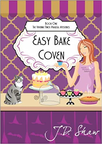 Free electronic books to download Easy Bake Coven (Vivienne Finch Magical Mysteries Book 1) RTF by J.D. Shaw