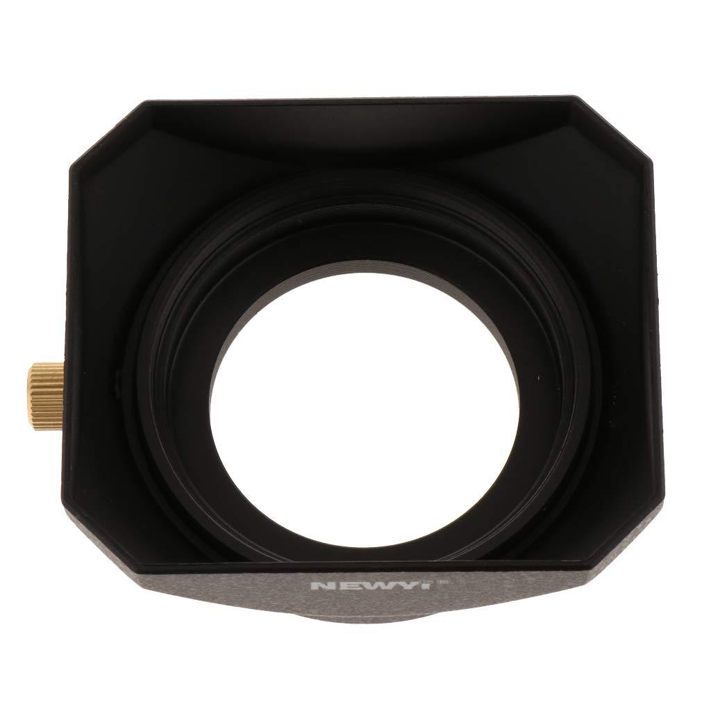 gazechimp 39mm Lens Hood Square for DSLR Mirrorless Camera Protector Accessory Kit