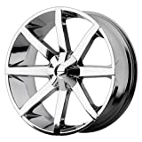 KMC Wheels Slide KM651 Chrome Wheel (22x9.5''/5x115mm)