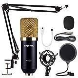ZINGYOU Condenser Microphone Bundle, ZY-007