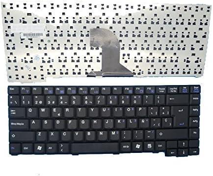 Portátil teclado para BenQ A31 A31E A32 A32E A33 A33E KO11818Q5 531080830011 España SP negro: Amazon.es: Informática