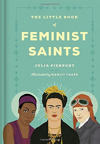 The Little Book of Feminist Saints cover