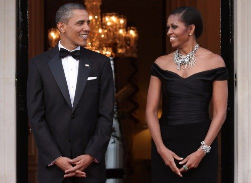 - BARACK AND MICHELLE OBAMA GLOSSY POSTER PICTURE PHOTO first lady president