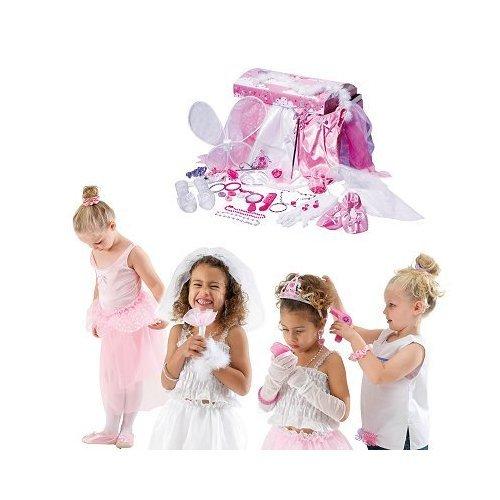 Rubie`s - Cofre con diseño de princesas, 37 accesorios (54054)