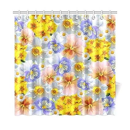 Amazon RYUIFI Spring Daffodils Primroses Pansy Blossom Bloom