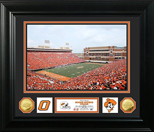 NCAA Oklahoma State Cowboys Special Edition Photo Coin Photo Mint, 32'' x 27'' x 4'', Gold by The Highland Mint