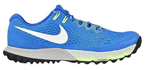 Nike Heren Air Zoom Terra Kiger 3 Loopschoenen Foto Blauw / Wit / Ghost Groen