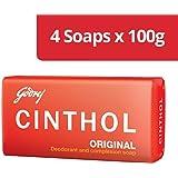 Cinthol Original Soap, 100g (Pack of 4)