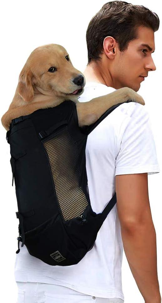 Lifeunion Pet Dog Carrier Backpack Mesh Adjustable Hands-Free
