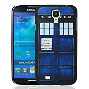MOM Tardis Pattern Plastic Hard Protective For Case Samsung Galaxy S5 Cover