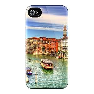 Scotansen Premium Protective Hard Case For Iphone 4/4s- Nice Design - Venice