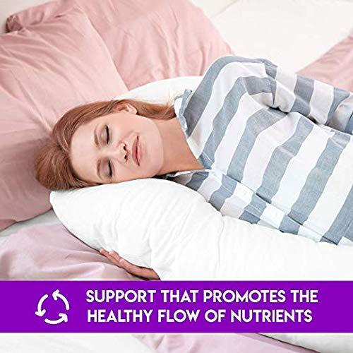 S2BMOM Premium Contoured Total Body Pillow//Maternity Pillow//Pregnancy Pillow U Shape Convertable to L Shape