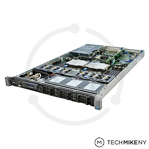 DELL PowerEdge R610 2 x 2.67Ghz E5640 Quad Core 48GB 4 x 146GB 10K SAS (Renewed)