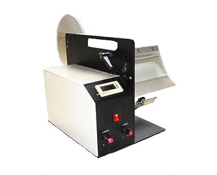 MXBAOHENG Dispensador de Etiquetas automático máquina de despegar etiquetadora AL-505L