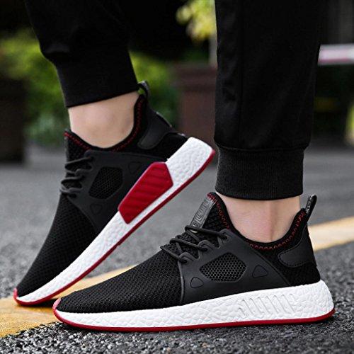 Beautyjourney Ginnastica Sportive Nero Lavoro Sneakers Running Da Scarpe Corsa Uomo Estive U8rUqY
