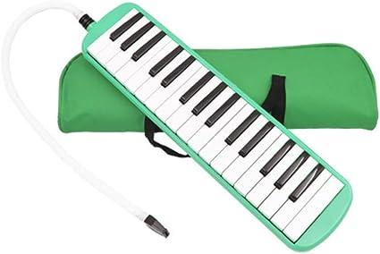 Melodica ABS duradero 32 teclas estilo de teclado de piano ...