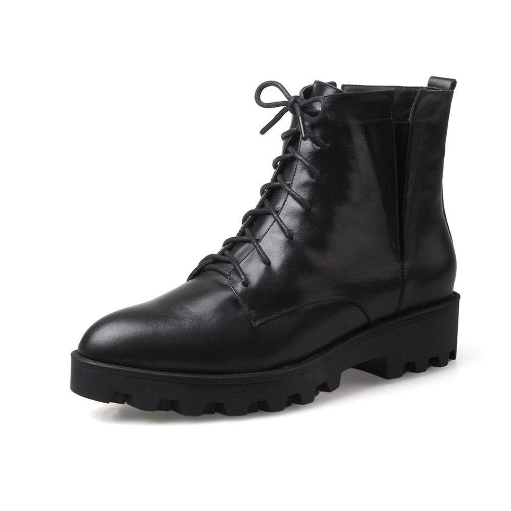レディースブーティー、ポインテッドマーティンブーツレディースフォール/ウィンターレザーレッドハイヒール防水ファッションブーツ (色 : B, サイズ : 42) B07JMFVJTS 42|B B 42