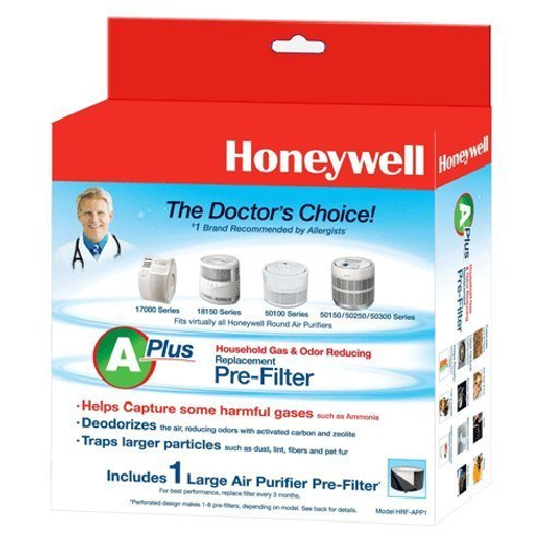 Honeywell Odor Reducing Purifier Replacement Pre Filter