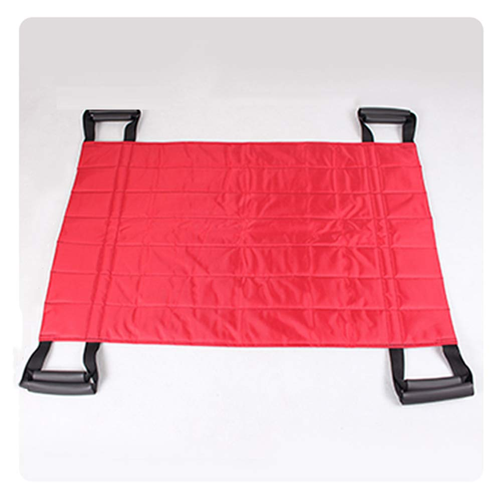 Transfer Board Belt with 4 Handles-Positioning Bed Pad Lift Sheet-Patient Slide Bed Assistance Devices for Lifting Turning,Brown