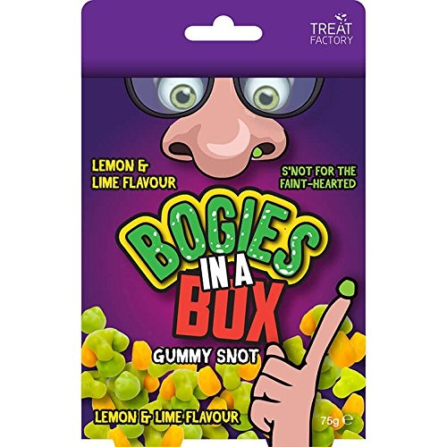 Lime & Lemon Flavoured Sweet Bogies In a Box SNOT For The Faint Hearted!!! ()