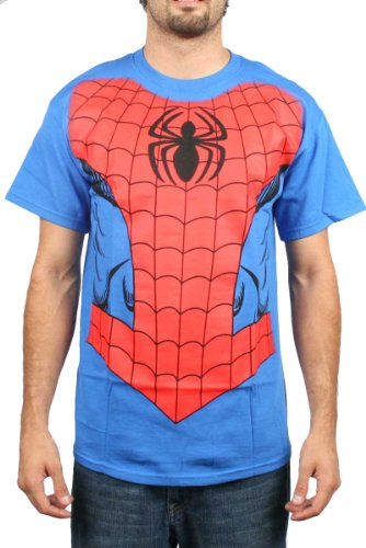 Spider Man New Costumes Comic (Authentic MARVEL COMICS Spiderman Spidey Costume T-Shirt XL NEW)