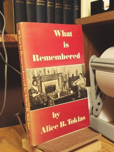 - What Is Remembered