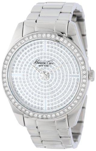 Kenneth Cole New York Women's KC4959 Classic Triple Silver Bracelet Stone Dial Watch