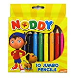 Noddy in Toyland Jumbo Colouring Pencils, Pack of 10