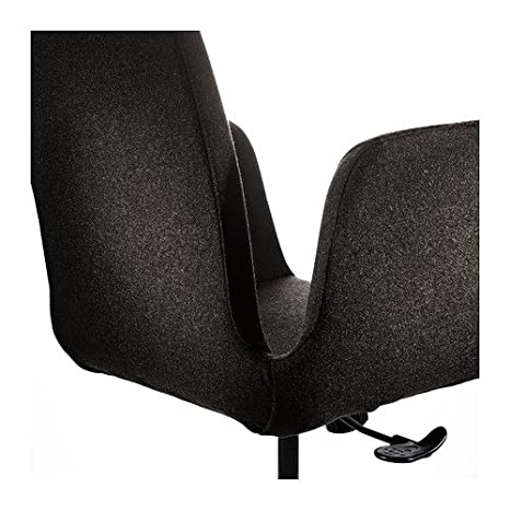 IKEA PATRIK   Swivel Chair, Dark Grey Ultuna: Amazon.co.uk: Kitchen U0026 Home