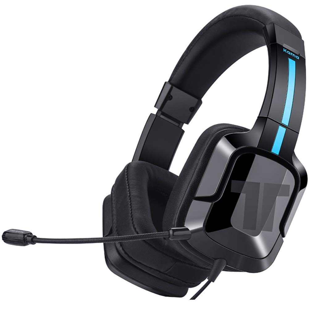 TRITTON Kama Plus [Upgraded with Over-Ear Caps], Gaming Headset with mic, for Sony PS4,Nintendo Switch,MacBook Pro/Air,Laptop,and More