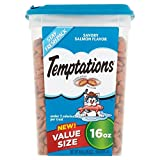 TEMPTATIONS MixUps Cat Treats (Salmon, 16 oz. -Pack of 3)