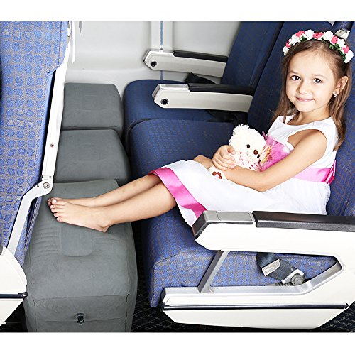 Homca Travel Foot Rest Pillow Inflatable Travel Leg Rest