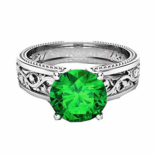Green Gold Filigree - 5