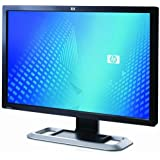 """HP L2045w 20.1"""" Inch Wide Widescreen Flat Panel Screen LCD Monitor, Carbonite/ Silver"""