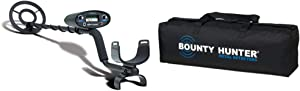 Bounty Hunter TK4 Tracker IV Metal Detector & Bounty Carry Bag
