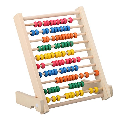 MAGIKON Wooden Counting Number Frame