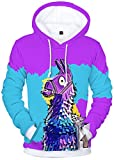 SERAPHY 2018 Newly Arrival Unisex 3D Print Pullover Jumpers Fortnite Legend Hoodie for Men/Women Q41 2XL