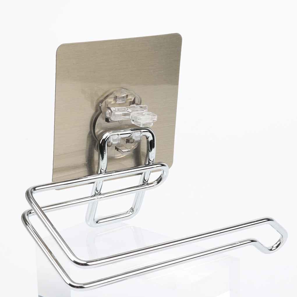 Bazzano Stainless Steel Wall Mounted Paper Towel Holder Toilet Roll Holder Rack