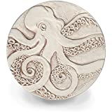 Drink Coasters by McCarter Coasters, Octopus, Absorbent, Light Beige 4.25 inch (4pc)