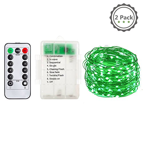 Cheap  Nova Republic 2 Set 60 LEDs String Lights,8 Modes with Remote Control..