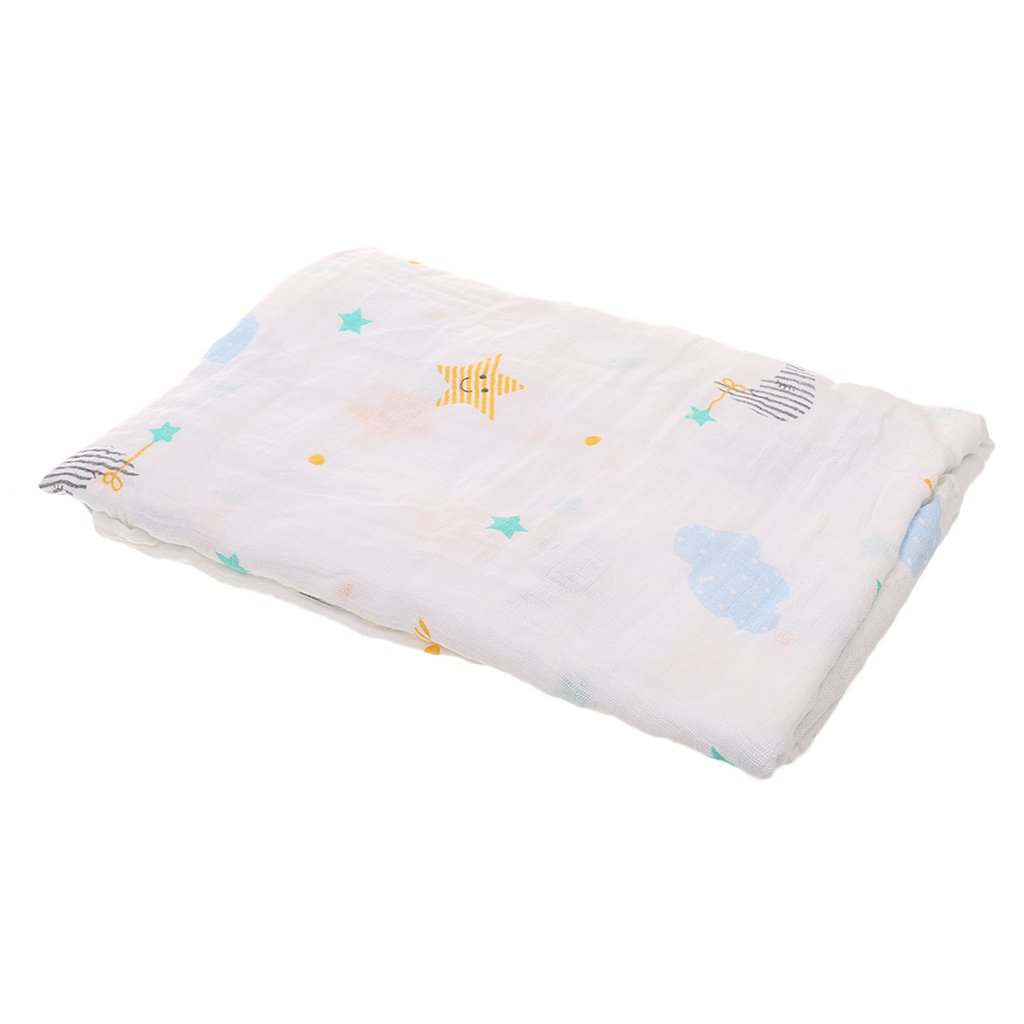 1pcsMantas de muselina para bebé recién nacido Toalla De Baño de Algodón de Alta Calidad Uso