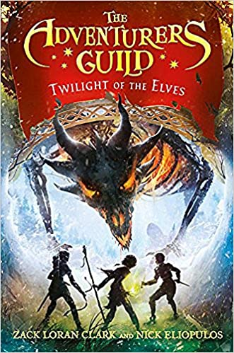 2019 book: The Adventurers Guild #2 Twilight of the Elves
