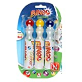 Pack of 3 Bingo Dabbers Felt Tip Assorted Colours