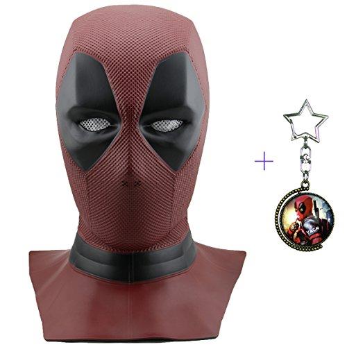 Yacn deadpool mask men Fancy Dress ,Movie DP Cosplay Costume Replica mask...